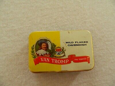 WILL'S  VAN  TROMP  PIPE  TOBACCO TIN -2 oz  EXC   SYDNEY AUST