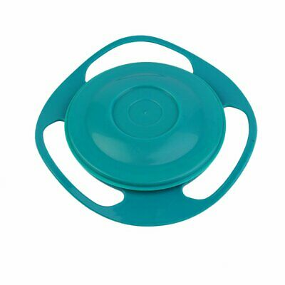 360 Degree Rotation Baby Feeding Dishes Unique Spill-Proof Dishes Gyro Bowl AU