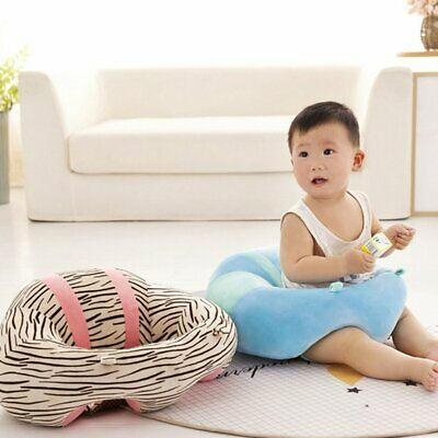 Baby Support Seat Plush Sofa Colorful Soft Infant Keep Sitting Posture Chair AU