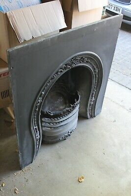 Victorian Style  Cast Iron Fireplace Insert