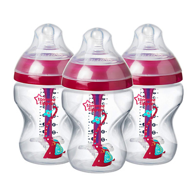 Tommee Tippee Decorated Advanced Anti-Colic Bottles 150 ml/260 ml - 1/2/3 count