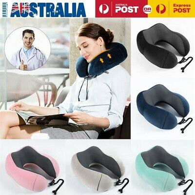 M-Pillow Portable Soft Comfortable Travel Pillow Neck Support Sitting Nap Rest G