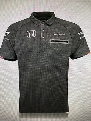 McLaren Honda Official 2017 Team T-Shirt Tee Top  Polo XL