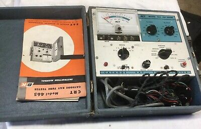 Antique Cathode Ray Tube Tester Model 456