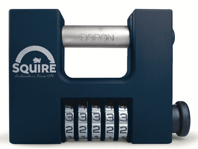 Squire CBW85 - SHCB High Security Recodable 85mm Block Combination Padlock