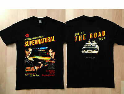 New supernatural day 2019 Black Hnaes Brand t shirt For Adult Size S - 3XL