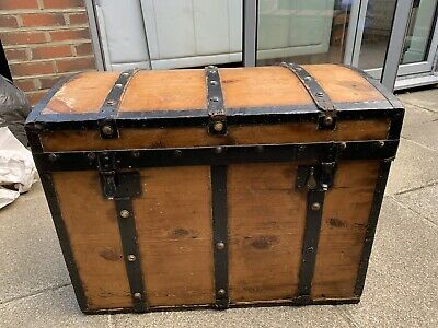 Iron Clad Victorian Sea Chest