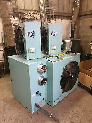 Commercial gas heater