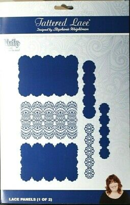 Tattered Lace UNITY Lace Panels (1 of 2) Die Set of 6 x Dies 464702 A4+ FREE P&P