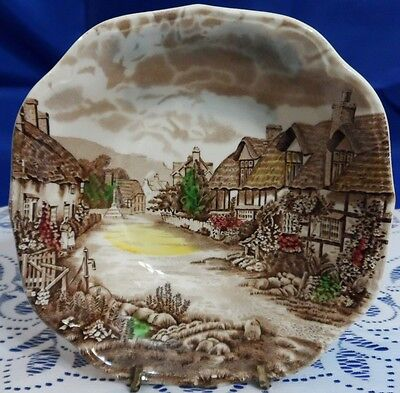 Johnson Brothers OLDE ENGLISH COUNTRYSIDE IRONSTONE Square Cereal Bowl - England
