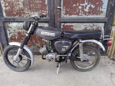 Simson S51N Grafitmetall superlack Bj83, Enduro tankset YouTube Soundvideo