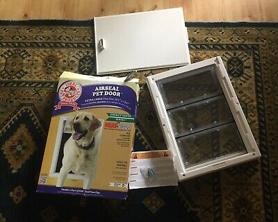 Extra Large Air Seal Pet Door Ideal Pet Products New In Box