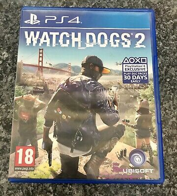 Watch Dogs 2 (Sony PlayStation 4, PS4) Game