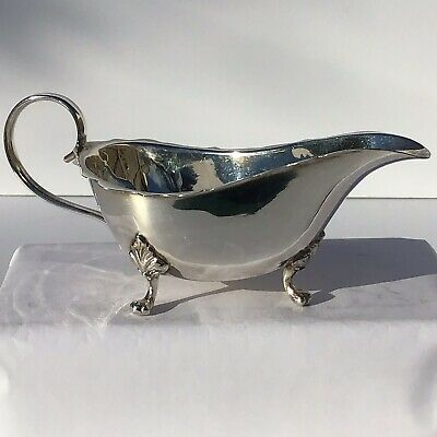 Antique EPNS Silver Sauce boat Early 20th Century