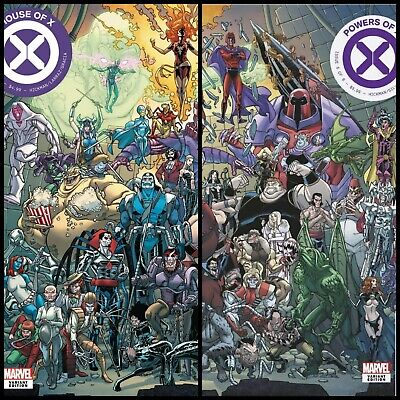 House Of X 6 & Powers Of X 6 Garron Connecting Variant Set 2019 Pre-Order 10/9