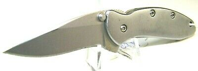 Kershaw 1600 Chive Stainless Steel Assisted Opening Pocket Knife ($75 Retail)
