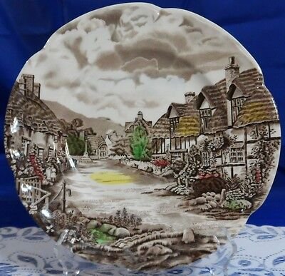 "Johnson Brothers OLDE ENGLISH COUNTRYSIDE IRONSTONE Dinner Plate 10""  - England"