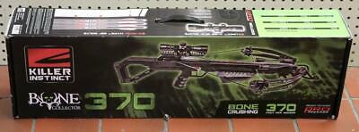 NEW - 2019 Killer Instinct Bone Collector 370 Pro Crossbow Package 1100-B