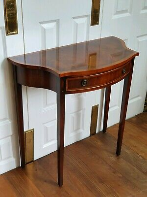 Bevan Funnell Reprodux Mahogany Console Table