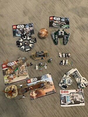 Lego Star Wars Lot - Missing Minifigures In Some Sets