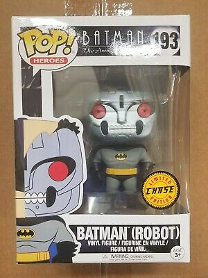 Funko Pop Heroes Batman The Animated Series Batman (Robot) 193 CHASE