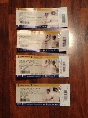 England v Australia Ashes 5th Test 12-16th September 2019 Tickets Day 1-4