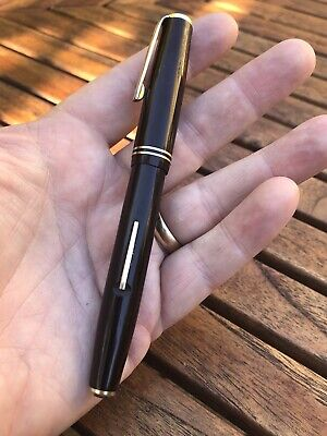 Excellent Summit vintage lever fill fountain pen Brown S.175 - Refurbished