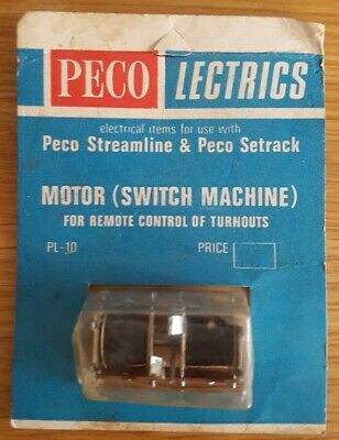 Peco Lectrics Peco Streamline & Peco Setrack Motor(Remote Switch Machine)PL-10