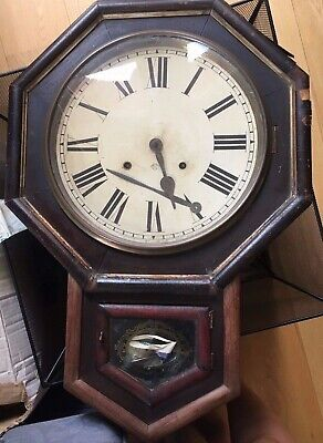 Antique Ansonia Clock Company Wall Clock