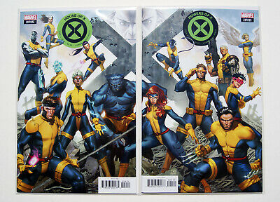 House Of X #4 & Powers Of X #4 Jorge Molina Connecting Variants X-Men Hickman