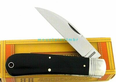 Rough Rider Whancliffe Slip Joint Folder Work Knife Smooth Micarta Handle RR2038