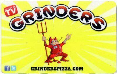 Grinders Gift Card (No $ Value) Local Kansas City, As Seen On Tv