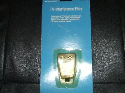 Vintage NOS Tandy Archer Radio Shack TV Interference Filter Cat No 15-582