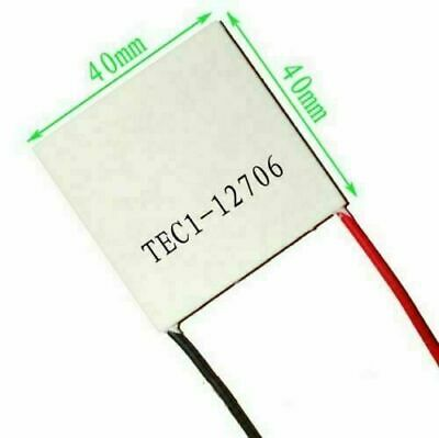 Techtonics Peltier TEC1-12706 Thermoelectric Cooler/Cooling/Refrigeration