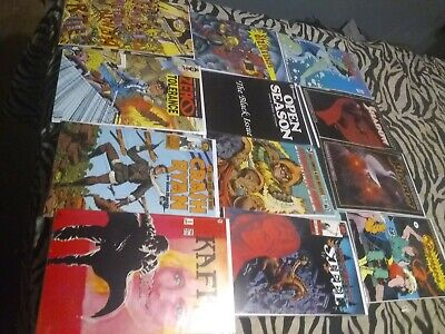 Vintage comic book lot #11marvel DC epic and more grab bag of 1970-1990s comic