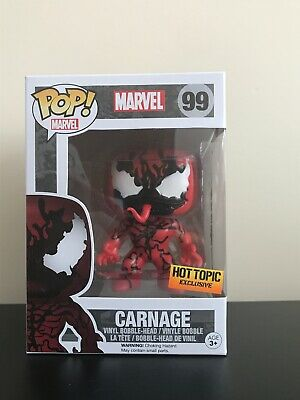 Marvel Carnage #99 funko Pop Hot Topic Exclusive Classic Marvel