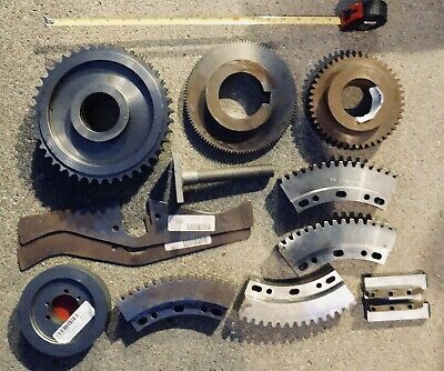 Industrial Machine Gear Wheel Pulley Lot Steampunk Lamp Base Parts (Lot#3)