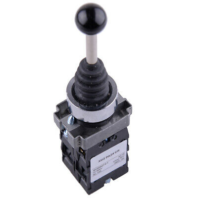 4NO 4Positions Momentary Spring Return Wobble Stick Joystick Switch XD2PA24CR US