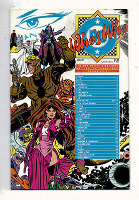 Whos Who #23 and #24, DC,1986,VF+ condition,Definitive Directory of DC Universe