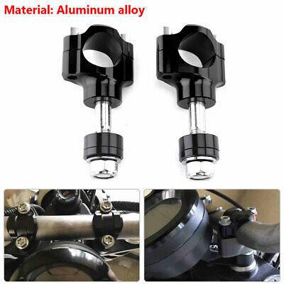 Motorcycle Cross-country Riser CNC 28MM HandleBar Heighten Mount Fixed Clamp
