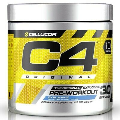 Cellucor C4 Original Id Series 30 Serves   Pre Workout - Icy Blue Razz
