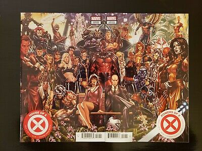 House Of X #1 & Powers Of X #1 Mark Brooks Connecting Variant Set Of 2 -Sold Out