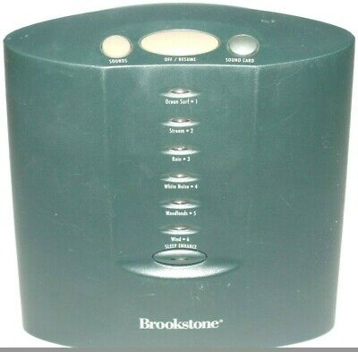 Brookstone Tranquil Moments 6 Sound Therapy Sleep Sound Machine - Used