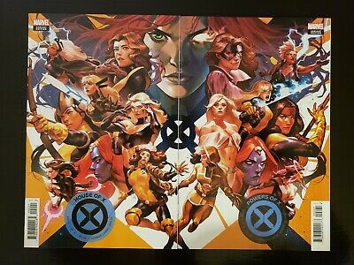 House Of X #2 & Powers Of X #2 Yasmine Putri Connecting Variant Set - Sold Out