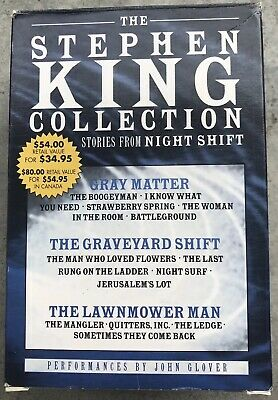 (16) Stephen King Audio Books Stories On 10 Cassettes FREE SHIPPING