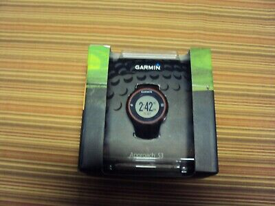 Garmin Approach S3 GPS Touchscreen Golf Watch Range Finder - Black Used