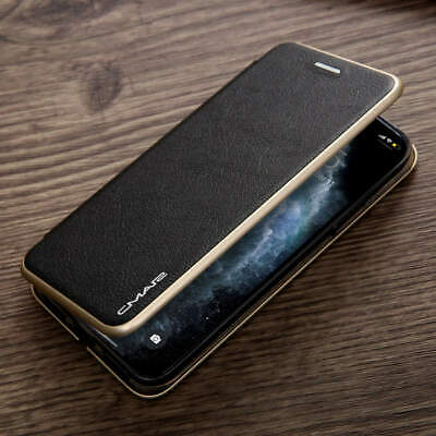 iPhone 11 Pro Max XR X XS 8/7+ Magnetic Leather Wallet Card Slim Case Flip Cover