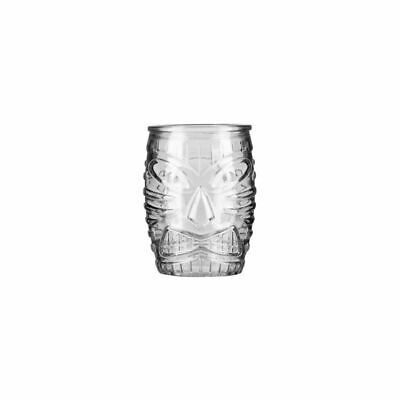 Tiki Cocktail Tumbler Glass 473ml Libbey Mixed Drink Bar Quirky Barware