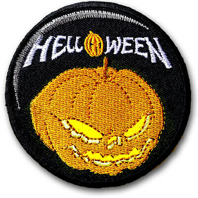 Helloween Patch Embroidered Power Metal Band Applique Emblem Rock Biker Rider #4