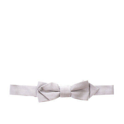 ARMANI JUNIOR Silk Bow Tie Size M / 4-8Y Textured Made in Italy